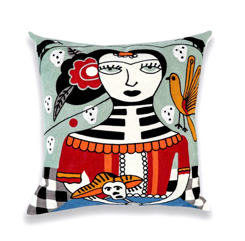 Limited Edition Picasso Cushion Cover- Birdy