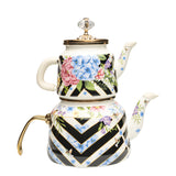 Floral Vintage Tea Pot Set