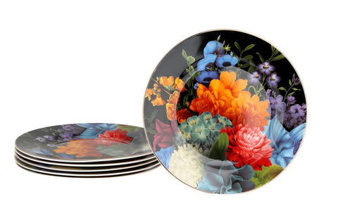 Gardenia Desert Plates-Set of 6