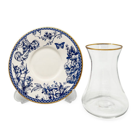Azure Vintage Tea Set