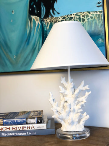 Pure Coral Lamp