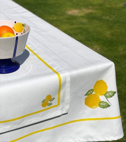 Lemon Table Cloth