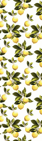 Lemon Leaves Table Runner