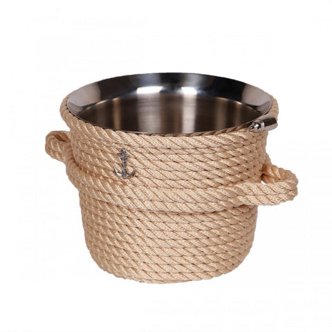 Nautical Champagne Bucket-Cream