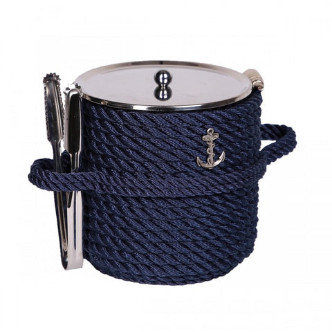 Nautical Ice Bucket-Blue