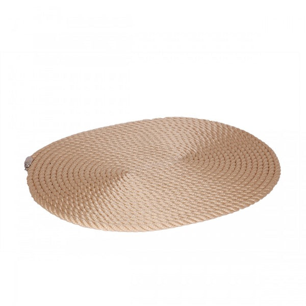 Nautical Rope Oval Placemat-Cream