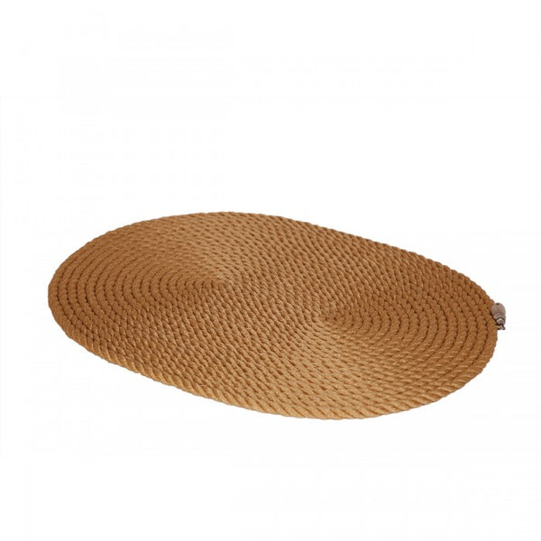 Nautical Rope Oval Placemat-Beige