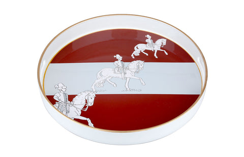 Red Horse Tray
