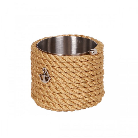 Nautical Rope Sugar Holder-Beige