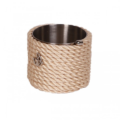 Nautical Rope Sugar Holder-Cream
