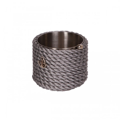 Nautical Rope Sugar Holder-Silver