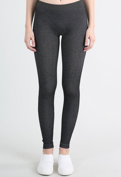 Charcoal flecks leggings
