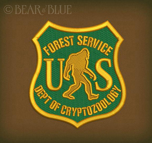 "Several Styles! Embroidered Patch ""Forest Service Department"""