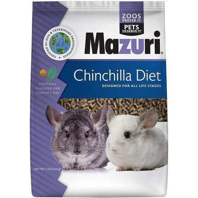 Quality Cage Crafters Chinchilla Food Mazuri Chinchilla Food - 2.5 Lbs