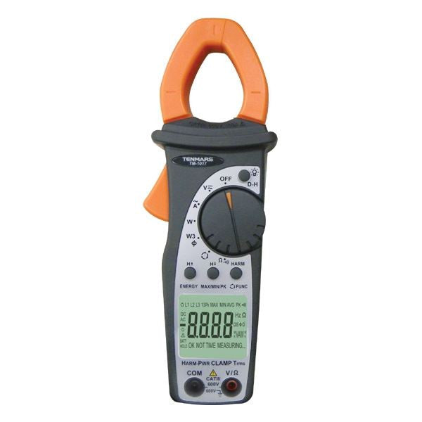 TM-1017 400A True-RMS AC Power Clamp Meter + Phase Rotation