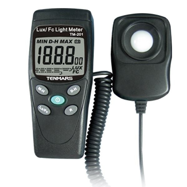 TM-201 LUX/FC Light Meter