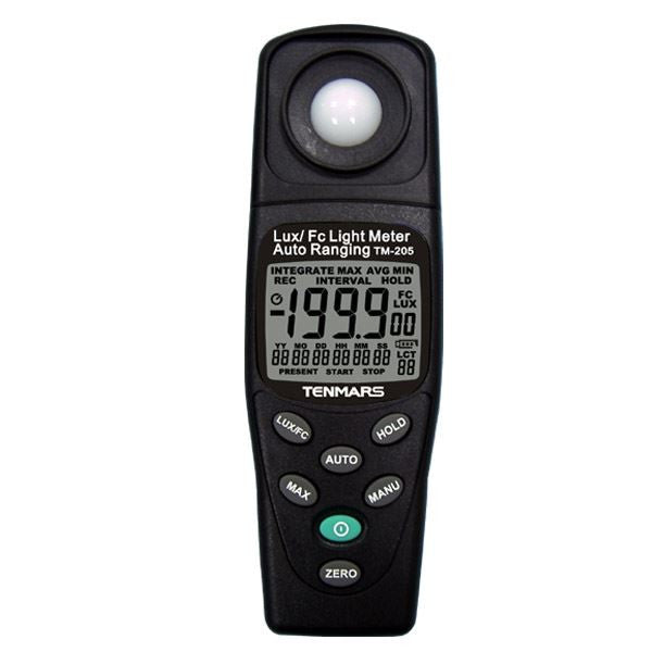TM-205 Auto Ranging Light Meter