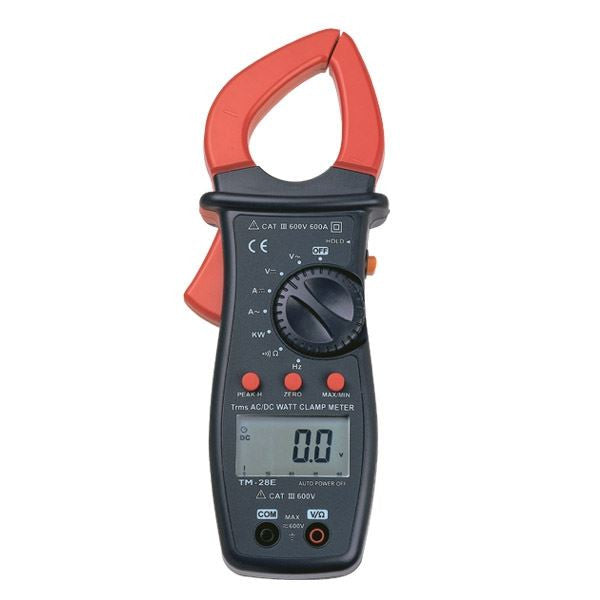 TM-28E 600 A True RMS Autoranging AC/DC WATT Clamp Meter