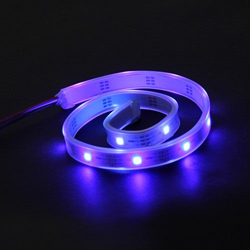 LED RGB Strip-Addressable, Sealed(0.5M) - Purple