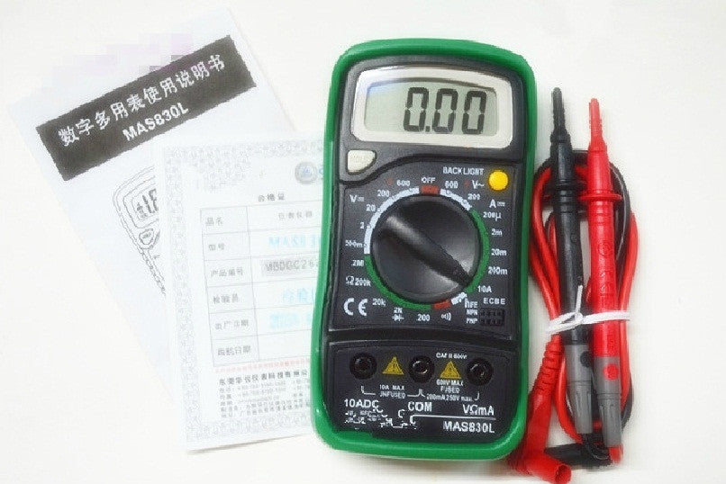 Entry-level Multimeter (MAS830L)