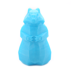 3D Printed Blue Squirrel