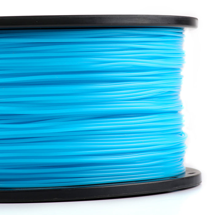 1.75mm PLA Filament - 1kg (Blue) Close-up
