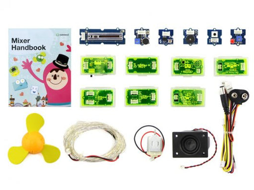 Mixer Pack V2 (Electronic blocks, without Arduino, plug and play system)