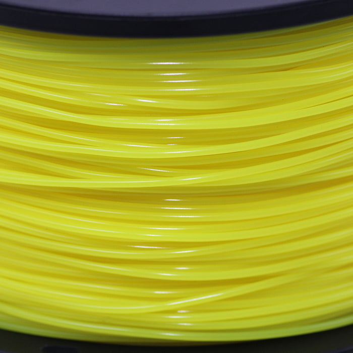 1.75mm PLA Filament - 1kg (Yellow) Close-up