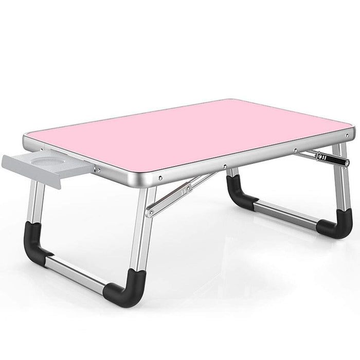 Contempo Views aptop Desk Bed Table Foldable Tray - Pink