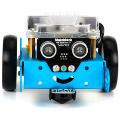 Blue mBot face