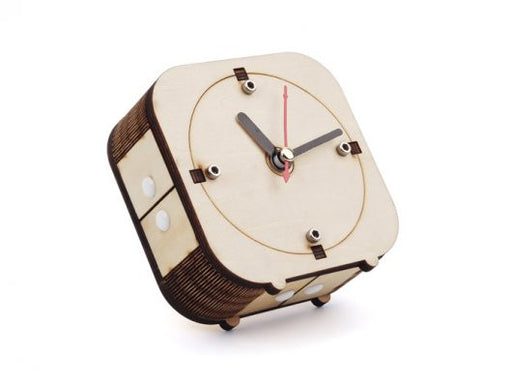 Back in Time – Make your wooden counter-clockwise clock