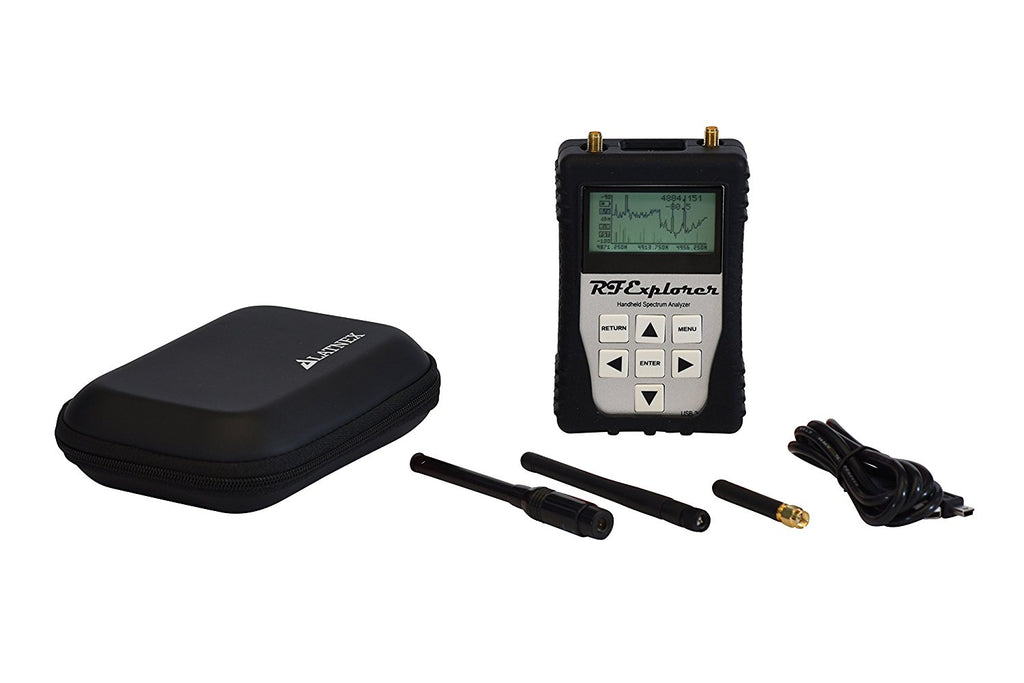 RF Explorer 3G Combo with Black EVA Case + Protection Boot & USB Cable