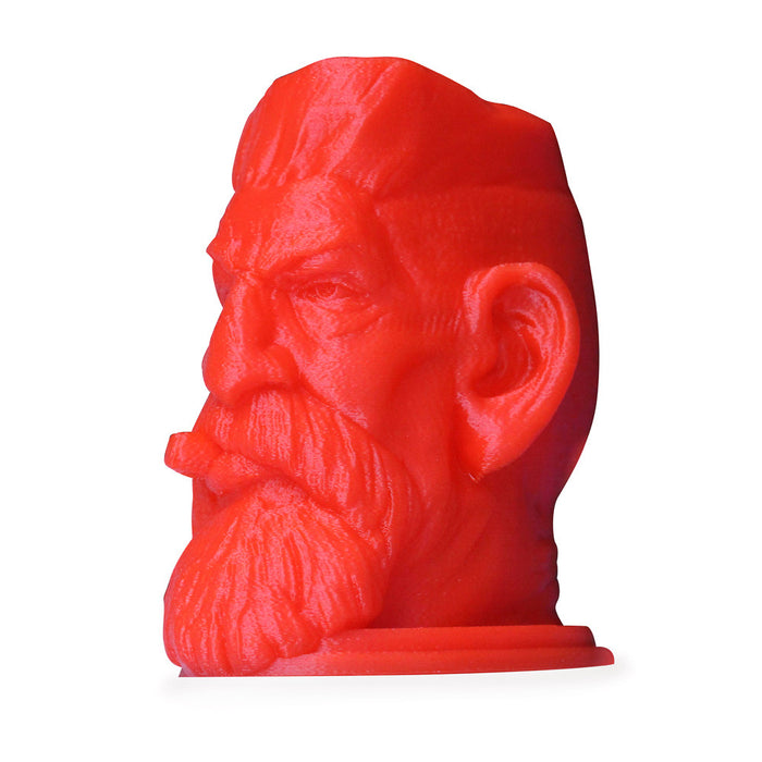 3D Printed Red Head Bust