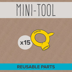 MAKEDO MINI-TOOL 015 Part List