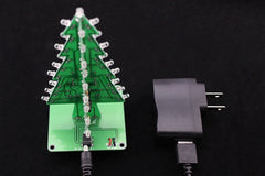 Flashing Christmas Tree Kit