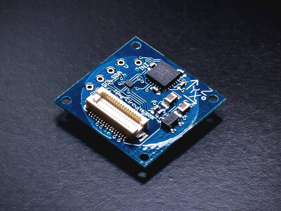 9-Axis (MPU9150) IMU TinyShield (discontinued) - TinyCircuits - 1