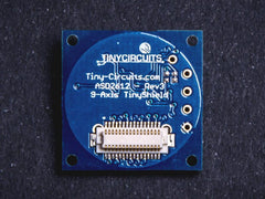 9-Axis (MPU9150) IMU TinyShield (discontinued) - TinyCircuits - 3