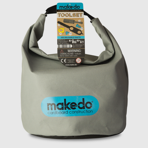 MAKEDO Toolset - Set of Tools for Cardboard construction tools for many hands