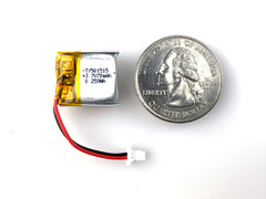 Lithium Ion Polymer Battery - 3.7V 70mAh