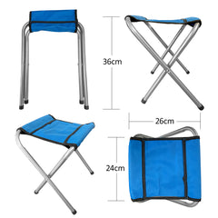 Portable Folding Outdoor Picnic Party Dining Camping Table Folding Stool Size