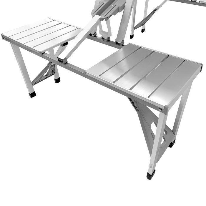 Portable Folding Picnic Table Bench Seat