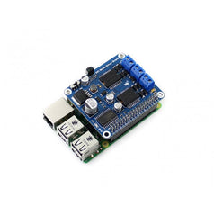 RPi Motor Driver Board connecting with Raspberry Pi