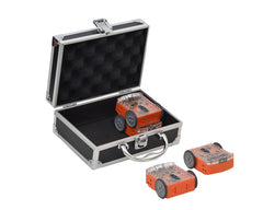Pack of 4 Edison Robots with Aluminium Case