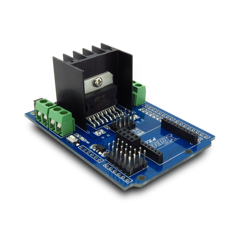Motomama L298n H Bridge Dc Motor Stepper Driver Chip Shield Starter Circuit Diagram Kit For Arduino