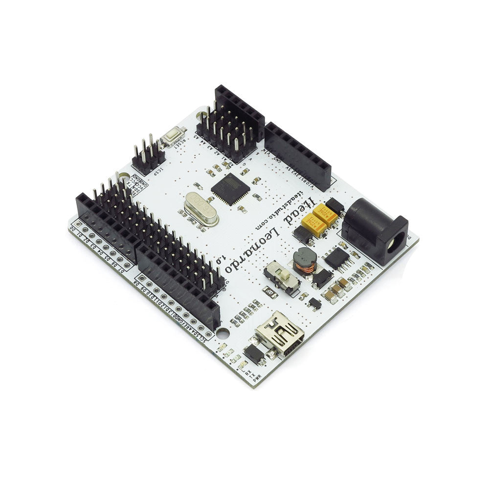 Iteaduino Arduino Leonardo Microcontroller Board ATmega32u4 With 20 Digital Input / Output Pins