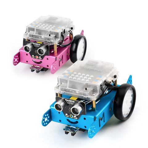 Pink and blue mBot