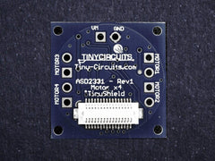 Motor x4 TinyShield (discontinued) - TinyCircuits - 3