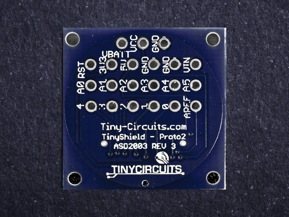 Proto Board 2 TinyShield (discontinued) - TinyCircuits