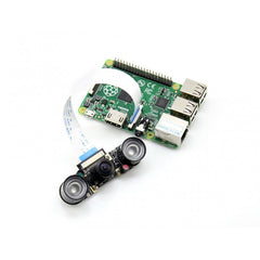 RPi 2 Camera (H), Fisheye Lens, Supports Night Vision