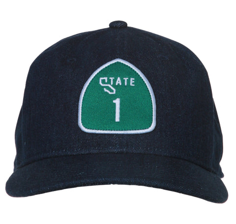 HIGHWAY 1 HAT- INDIGO DENIM